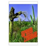Green Zombie Large Poster