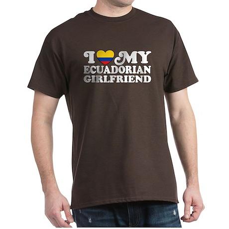 Ecuadorian Girlfriend Dark T-Shirt