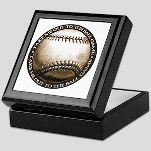 Great design for the baseball Keepsake Box