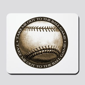 Great design for the baseball Mousepad