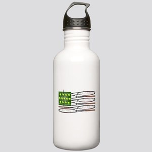 US Tennis Flag Stainless Water Bottle 1.0L