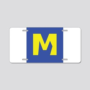 M for Marriage Aluminum License Plate