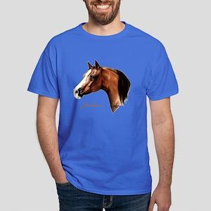 Bay Arabian Horse Dark T-Shirt