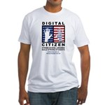 Digital Citizen Fitted T-Shirt