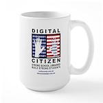 Digital Citizen Large Mug Mugs