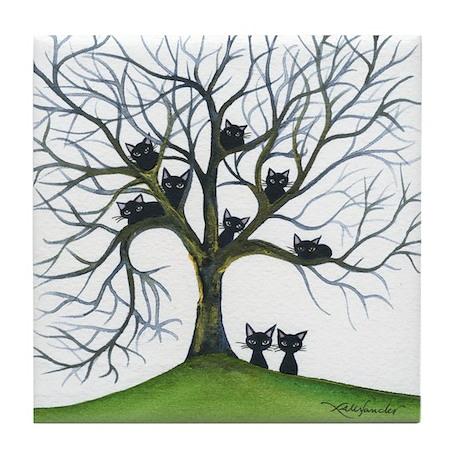 Modesto Stray Cats Coaster