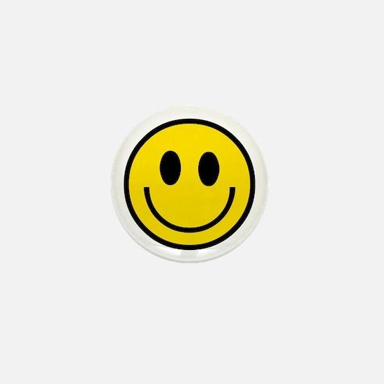 70's Smiley Face Mini Button