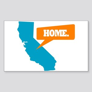 State Quote - California - Ho Sticker (Rectangle)