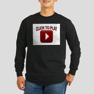 START NOW Long Sleeve Dark T-Shirt
