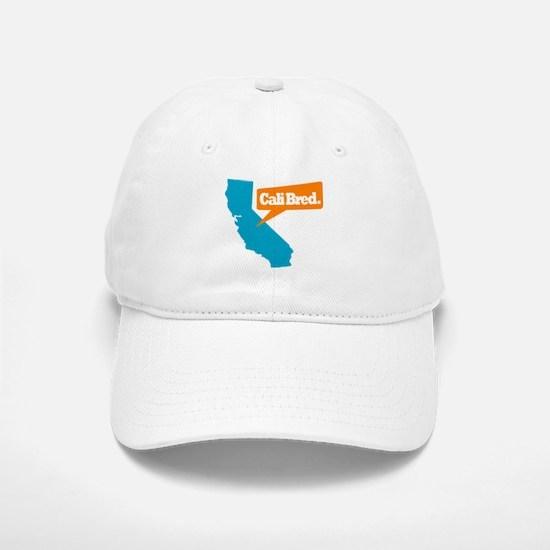 State Quote - Cali Bred Baseball Baseball Cap