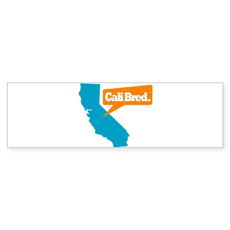 State Quote - Cali Bred Sticker (Bumper)