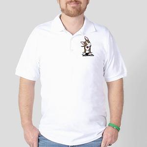 Brindle Bull Terrier Golf Shirt