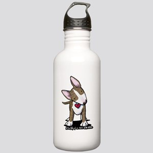 Brindle Bull Terrier Stainless Water Bottle 1.0L