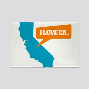 State Quote - California - I Rectangle Magnet