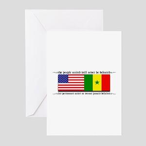 Senegal greeting cards cafepress usa senegal greeting cards pk of 10 m4hsunfo