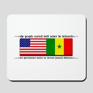 USA - Senegal Mousepad