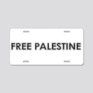 Free Palestine Aluminum License Plate