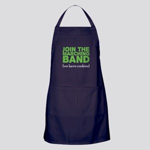 Join the Marching Band Apron (dark)
