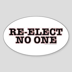 Re-ElectNoOne Sticker