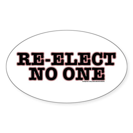 Re-ElectNoOne Sticker