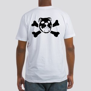 Logo & Skull Duo - Fitted T-Shirt