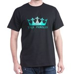 Yoga Princess-Teal Dark T-Shirt