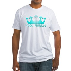 Yoga Princess-Teal Shirt