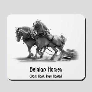 Belgian Draft Horse Mousepad