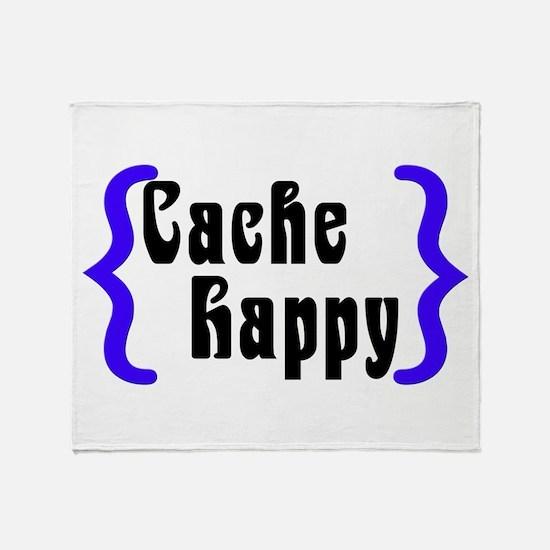 Cache Happy Throw Blanket
