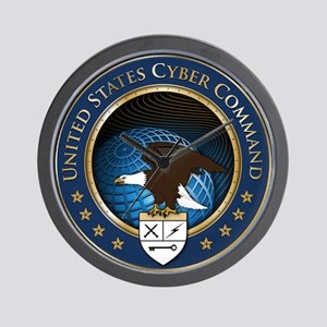 United States Cyber Command Wall Clock
