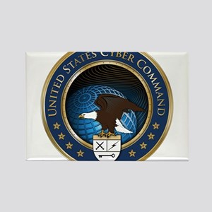 United States Cyber Command Rectangle Magnet