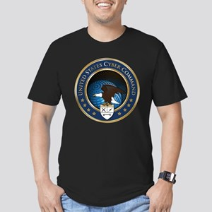 United States Cyber Command Men's Fitted T-Shirt (