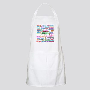 Tennis Terms Apron