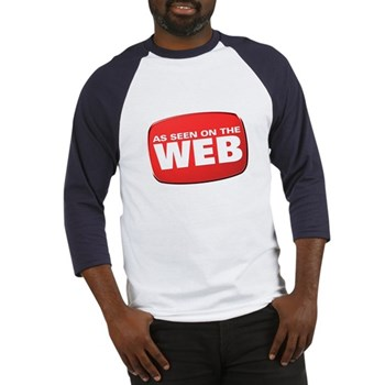 As Seen on the Web Baseball Jersey