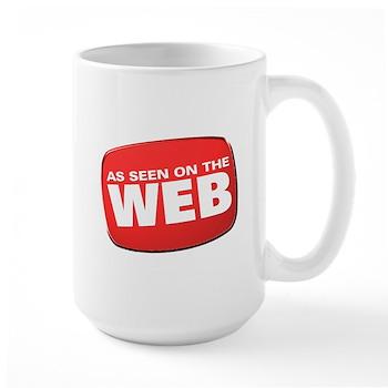 As Seen on the Web Large Mug