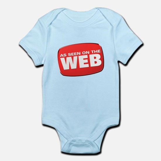 As Seen on the Web Infant Bodysuit