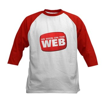 As Seen on the Web Kids Baseball Jersey