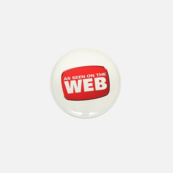 As Seen on the Web Mini Button