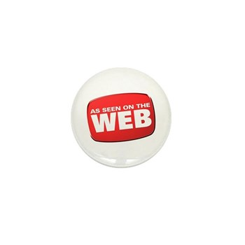 As Seen on the Web Mini Button (10 pack)