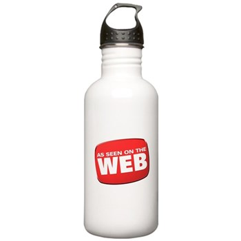 As Seen on the Web Stainless Water Bottle 1.0L