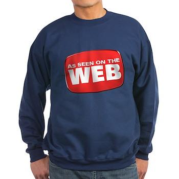 As Seen on the Web Dark Sweatshirt