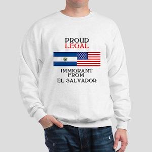 El Salvador Immigrant Sweatshirt
