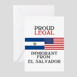 El Salvador Immigrant Greeting Cards (Pk of 10