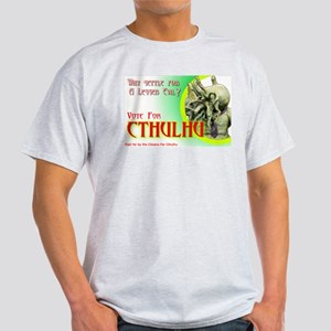 Vote for Cthulhu Light T-Shirt