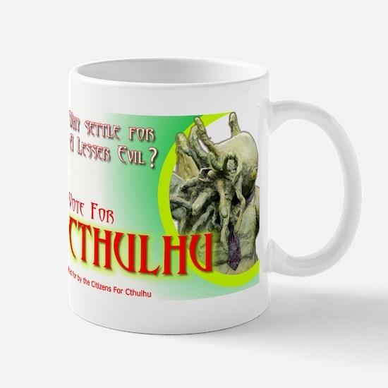 Vote for Cthulhu Mug