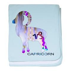 CAPRICORN baby blanket