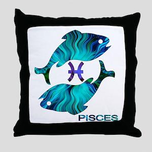 PISCES Throw Pillow