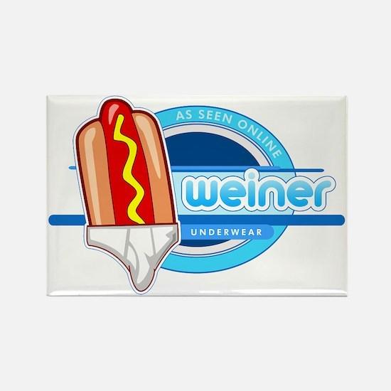 Weiner Underwear - Tighty Whiteys Rectangle Magnet