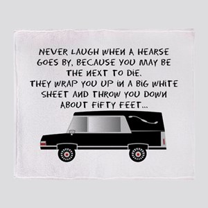 Funeral Director/Mortician Throw Blanket