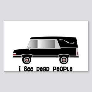 Funeral Director/Mortician Sticker (Rectangle)